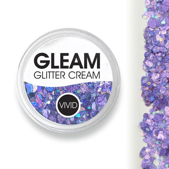VIVID Gleam Chunky Glitter Cream - Purpose (10 gm)