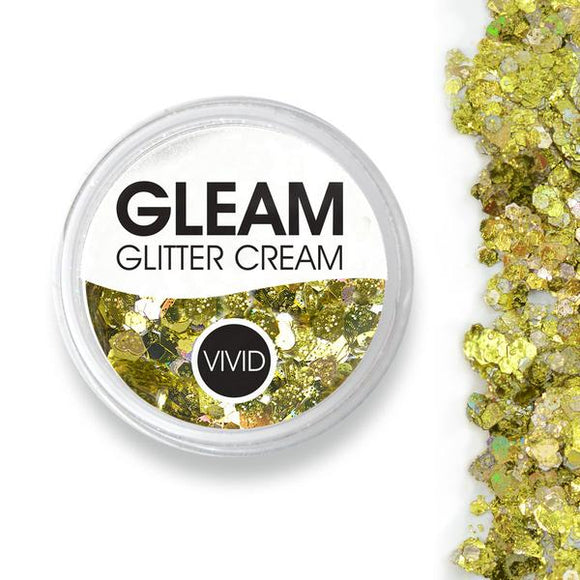 VIVID Gleam Chunky Glitter Cream - Treasure