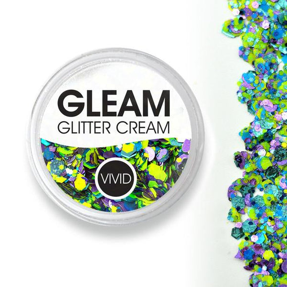 VIVID Gleam Chunky Glitter Cream - Wild Bloom (10 gm)