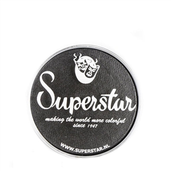 Superstar Face Paint - Steel Black Shimmer/Graphite 223