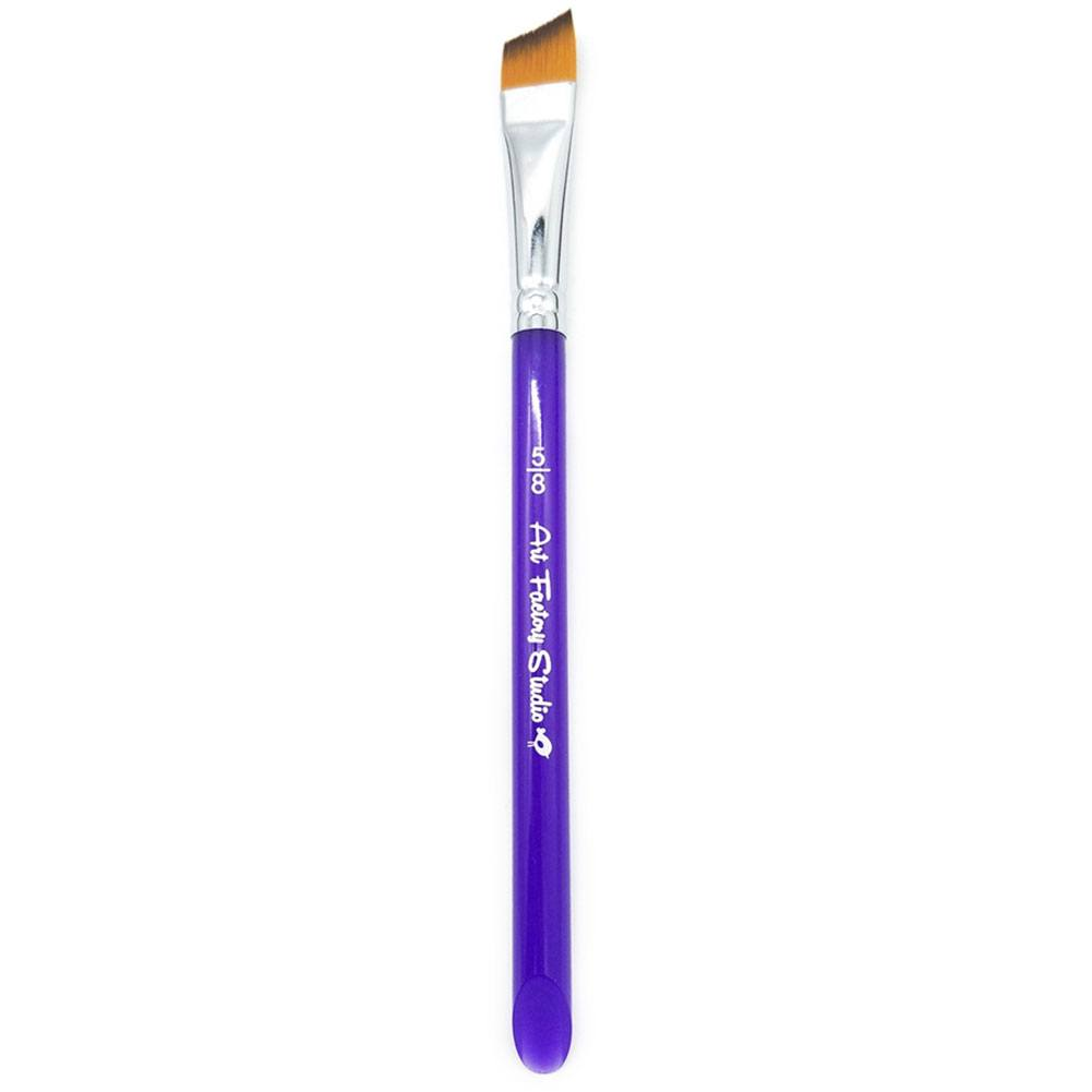 "Art Factory Studio Brush -Acrylic Handle Angle (5/8"")"