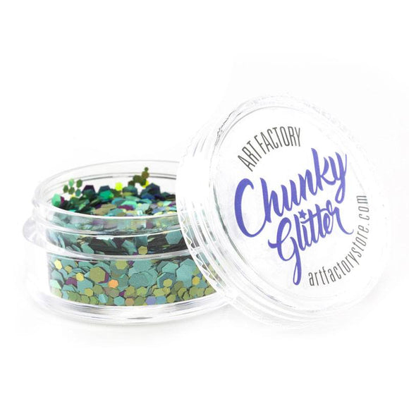 Art Factory Chunky Glitter - Mermaid (10 ml)