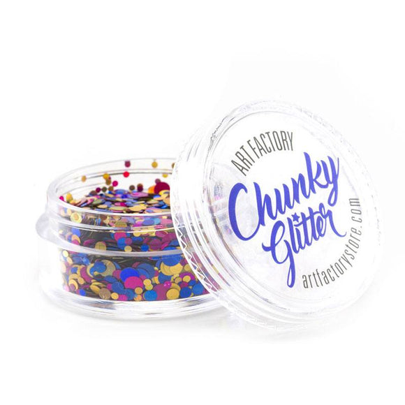 Art Factory Chunky Glitter - Fiesta (10 ml)