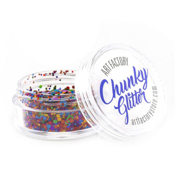Art Factory Chunky Glitter - Rainbow Pride (10 ml)