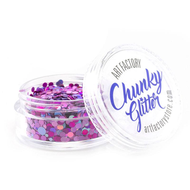 Art Factory Chunky Glitter - Diva (10 ml)