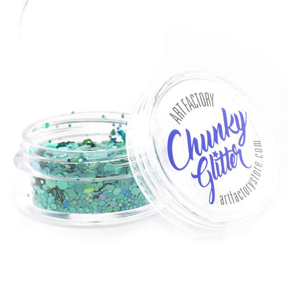 Art Factory Chunky Glitter - Blue Lagoon (10 ml)