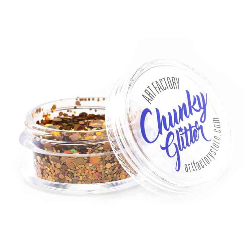 Art Factory Chunky Glitter - Gold Digger (10 ml)