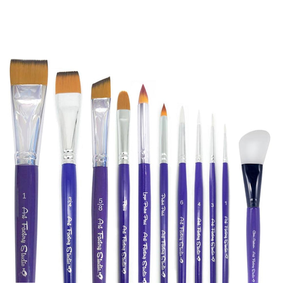 Art Factory Studio 11-Piece Pro Brush Set