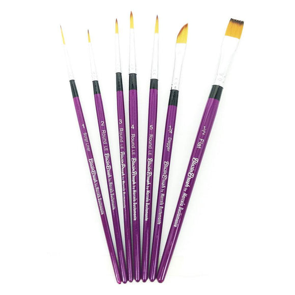 Limited Edition Blazin 7 Brush Set by Marcela Bustamante