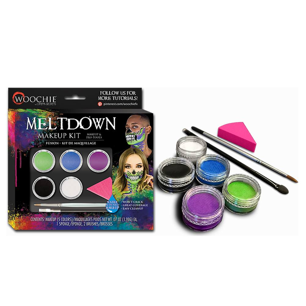 Woochie Water Activated Halloween Makeup Kit - Meltdown