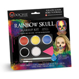 Woochie Water Activated Halloween Makeup Kit - Rainbow Skull