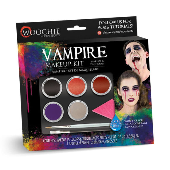 Woochie Water Activated Halloween Makeup Kit - Vampire