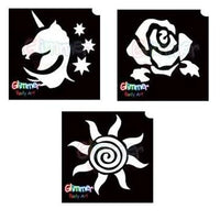 Glimmer Glitter Tattoo Build Your Own Kit (Pick 3+ Designs)