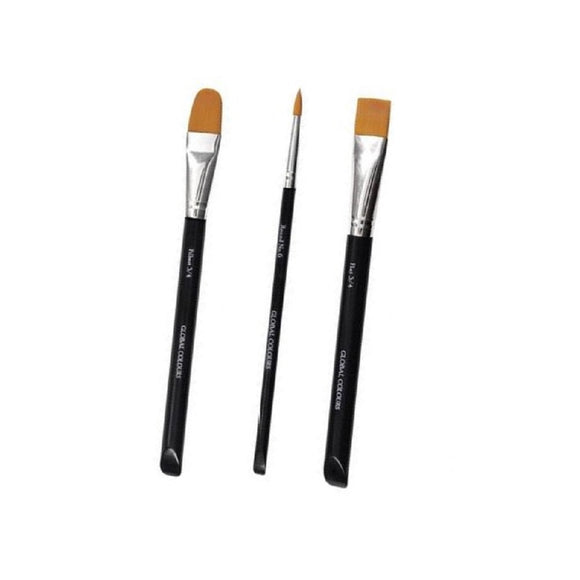 Global Build Your Own Brush Set (Pick 3+ Styles)