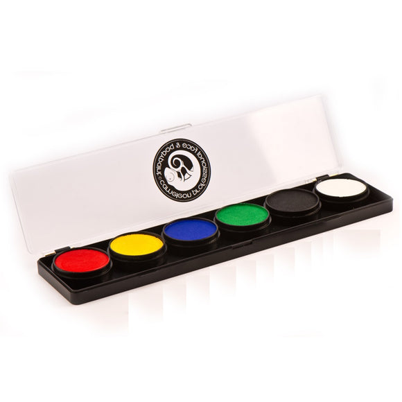 Cameleon Build Your Own Face Paint Palettes (6 Colors)
