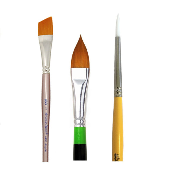 Loew-Cornell Build Your Own Brush Set (Pick 3+ Styles)