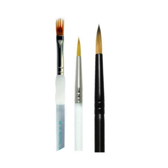 Royal Build Your Own Brush Set (Pick 3+ Styles)