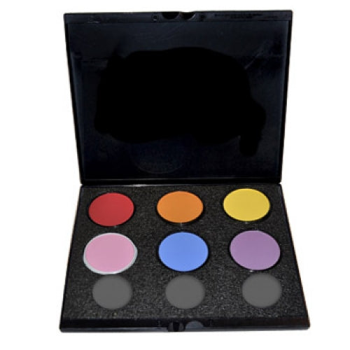 Mehron Build Your Own Starblend Face Paint Palettes (6 Colors)