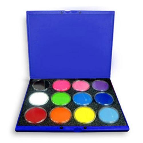 Wolfe Build Your Own Face Paint Palettes (12 Colors)