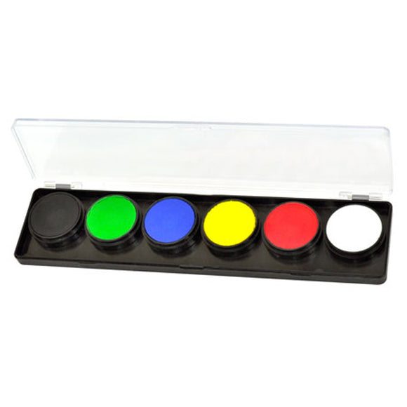 FAB Build Your Own Face Paint Palettes (6 Colors)