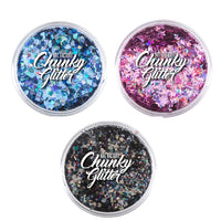 Art Factory Chunky Glitter Build Your Own Kit (Pick 3+ Colors)