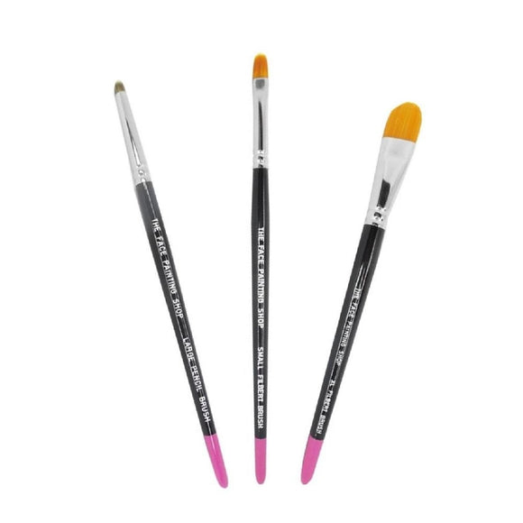The Face Painting Shop Build Your Own Brush Set (Pick 3+ Styles)