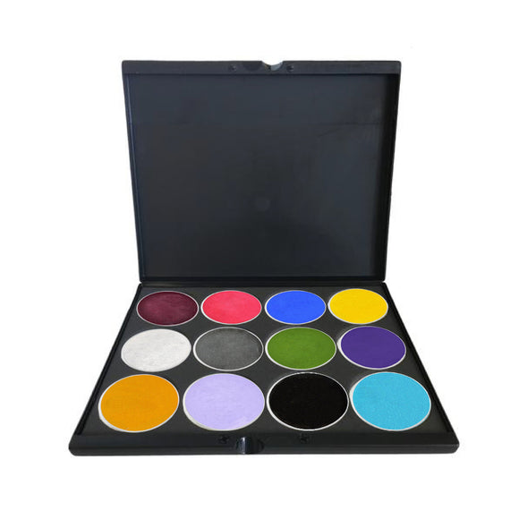 FAB Build Your Own Face Paint Palettes (12 Colors)