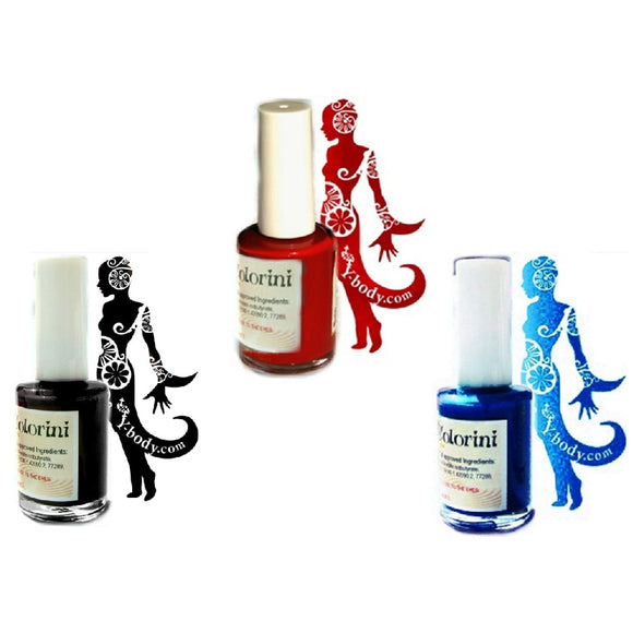 Colorini Build Your Own Tattoo Ink Set (Pick 3 Or More Colors)