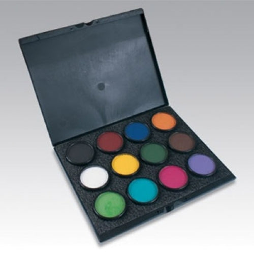 Paradise AQ Pro Build Your Own Face Paint Palette (12 Colors)