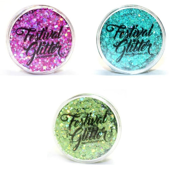 Art Factory Build Your Own Festival Glitter Kit (Pick 3+ Colors)