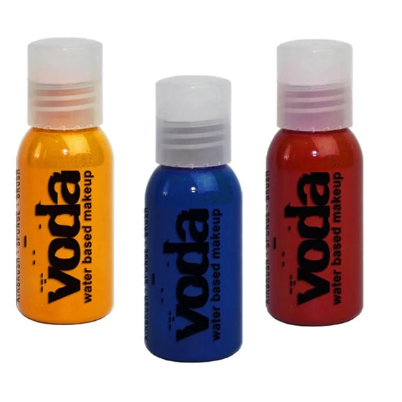 VODA Build Your Own Water Based Airbrush Makeup (Pick 3+ Colors)