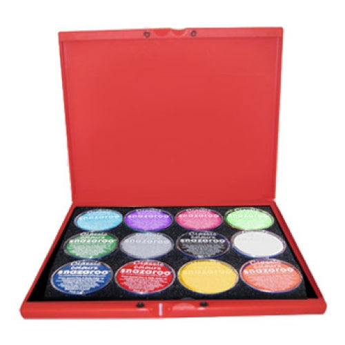 Snazaroo Build Your Own Face Paint Palettes (12 Colors)