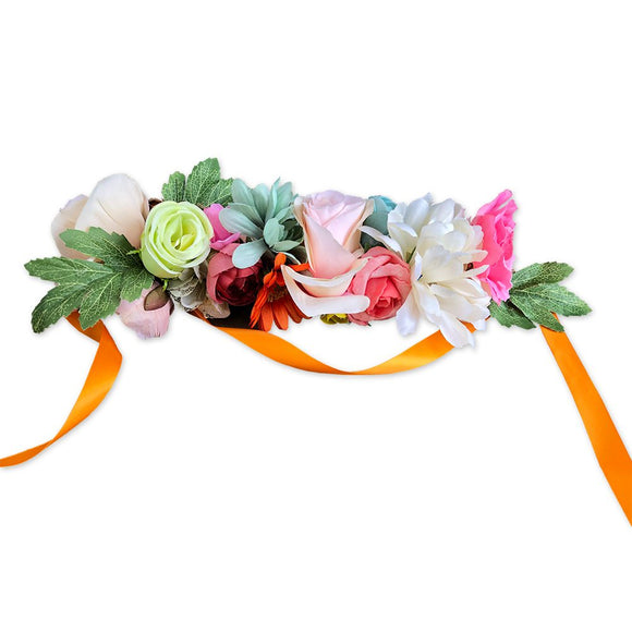 Creative Faces Flower Crowns - Crown 007