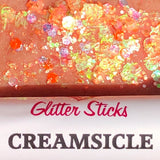 Creative Faces Glitter Stick - Creamsicle UV (3.5 gm/4.5 ml)