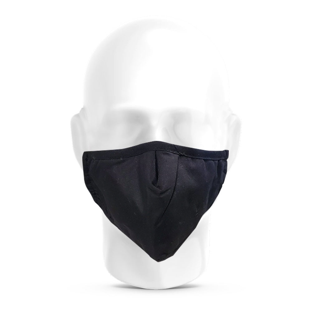 Anti Pollution Dust Face Mask with Activated Carbon Filter PM2.5 - Black
