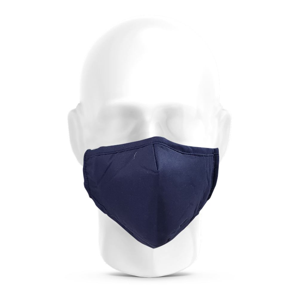Anti Pollution Dust Face Mask with Activated Carbon Filter PM2.5 - Navy