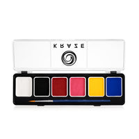 Kraze FX Fundamentals 6 Color Palette (6 gm each)
