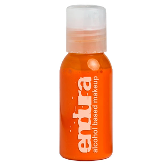 Endura Ink Alcohol Based Airbrush Makeup  - Orange (1 oz/ 30 ml)