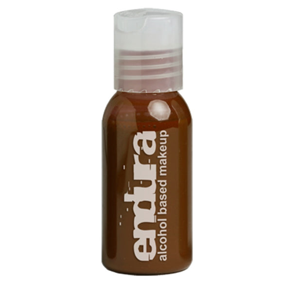 Endura Ink Alcohol Based Airbrush Makeup  - Brown (1 oz/ 30 ml)