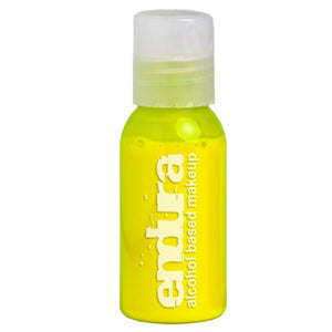 Endura Ink Alcohol Based Airbrush Makeup  - Bright Yellow (1 oz/ 30 ml)