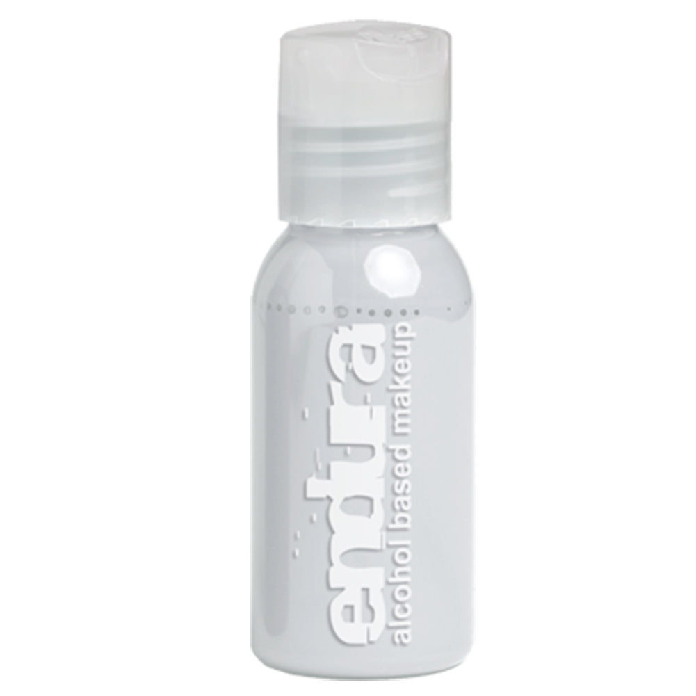Endura Ink Alcohol Based Airbrush Makeup  - Fluorescent White (1 oz/ 30 ml)
