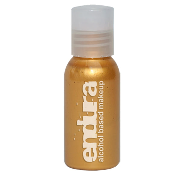Endura Ink Alcohol Based Airbrush Makeup  - Metallic Gold (1 oz/ 30 ml)