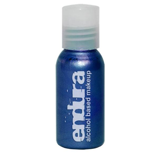 Endura Ink Alcohol Based Airbrush Makeup  - Metallic Blue (1 oz/ 30 ml)