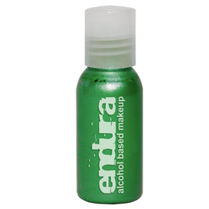 Endura Ink Alcohol Based Airbrush Makeup  - Metallic Green (1 oz/ 30 ml)