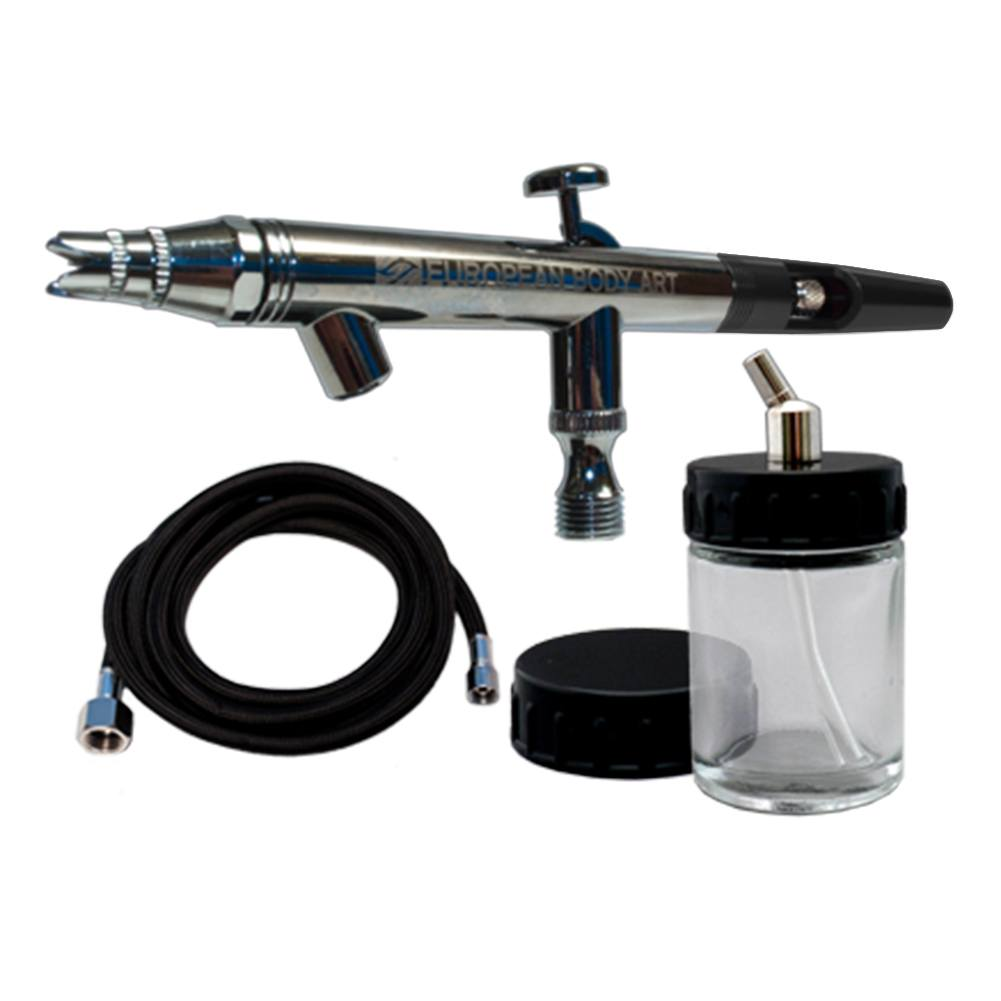 European Body Art Epic DAB Airbrush Set - Black