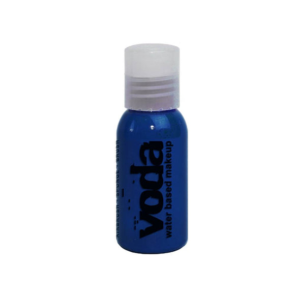 Voda Water Based Airbrush Makeup - Blue (1 oz)