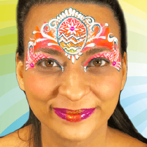 Superstar Face Paint - Line White 161