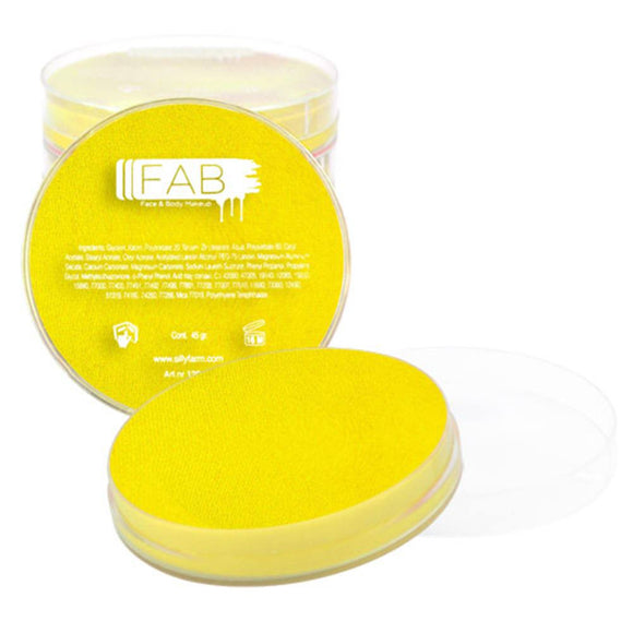 FAB Superstar Face Paint - Lemon Yellow 144