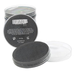 FAB Black Face Paint - Steel Black Shimmer 223 (45 gm)