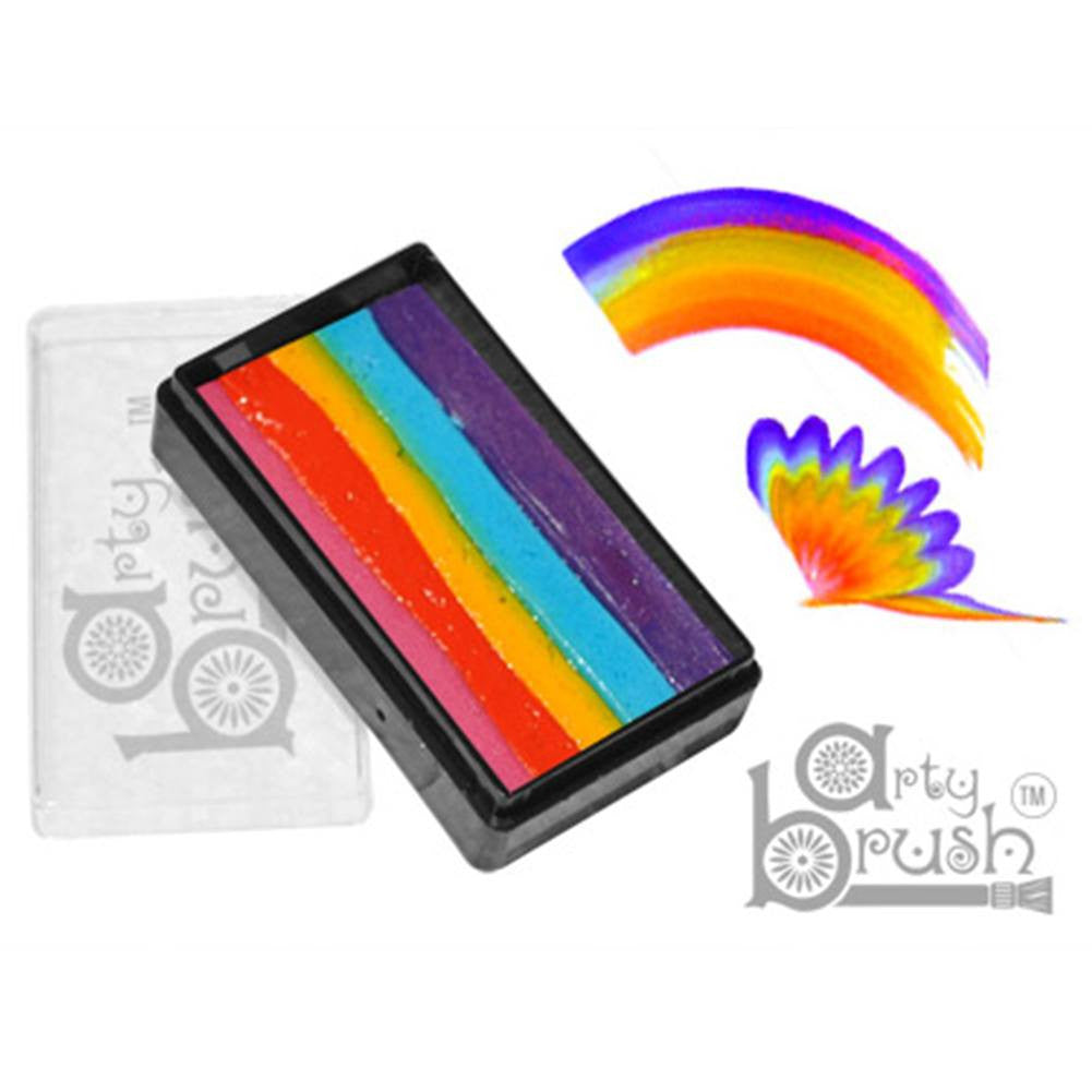 Silly Farm Arty Brush Cakes - Rainbow (20 gm)
